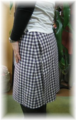 wraped skirt