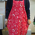 Eco apron_with!snoopy