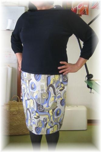 printed_tight_skirt
