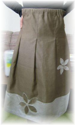 Tuck Skirt