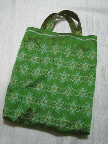 cambodian silk bag