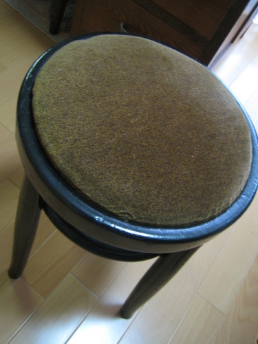 velbet coushion stool
