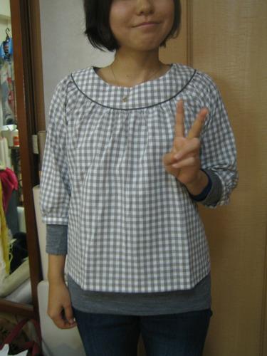round_yoke_blouse