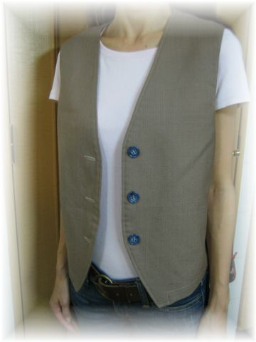 simple vest for mam