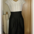 front_pintuck_two_tone_dress