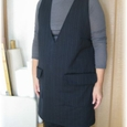 v_collar_woolen_tunic