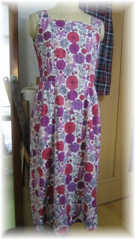 dress by Liberty flower print