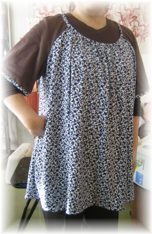 raglan tunic dress
