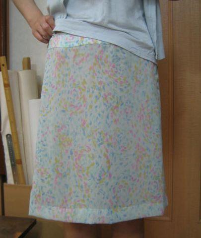 Chiffon_skirt