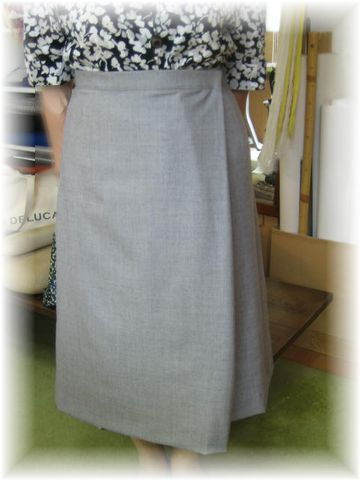 asymmetry _woolen_skirt