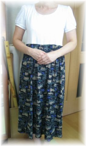 remake dress by t_shirt
