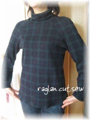 Raglan cutsew