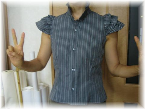 Remake_frill_blouse